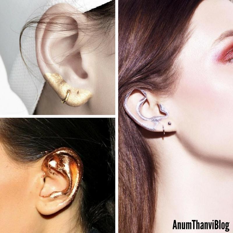 anumthanvi ear makeup trend by anum thanvi
