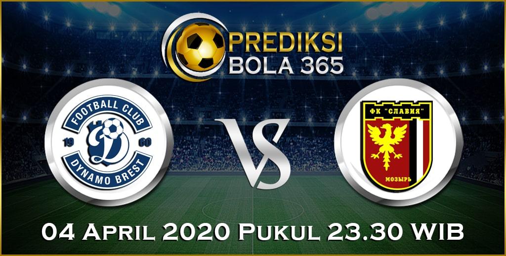 Prediksi Skor Bola Dinamo Brest vs Slavia Mozyr 04 April 2020