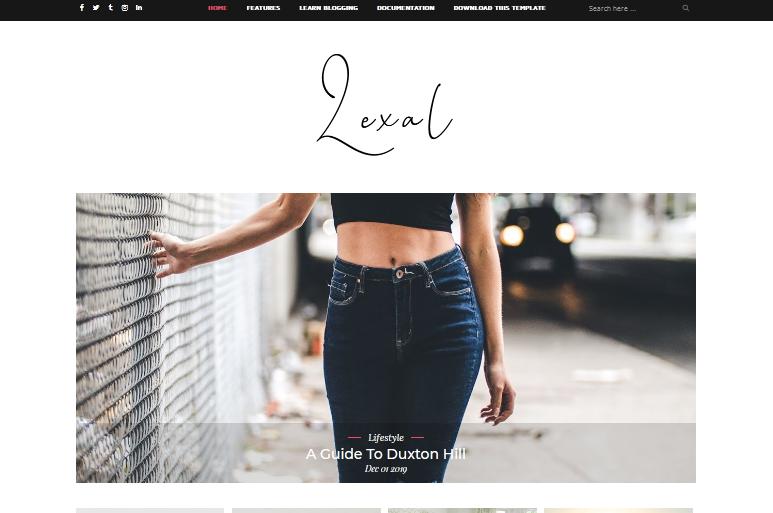 Lexel Blogger Template New High CTR Responsive Theme 2020