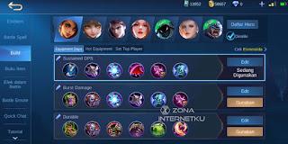 Emblem & Build Esmeralda The sickest and strongest mobile legends