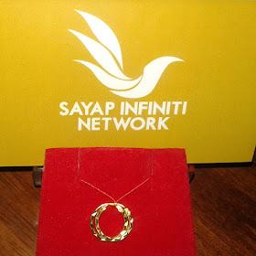 Barang Kemas Sayap Infiniti Network, subang cincin, subang budak, emas, emas 916, 916