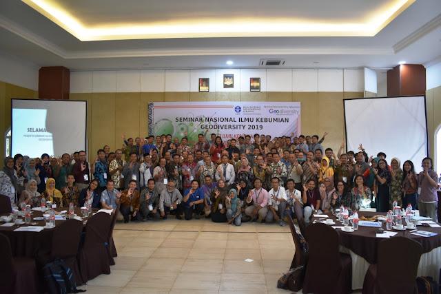 Semnas Geodiversity 2019; Kolaborasikan Hasil Penelitian di Geopark Nasional Karangsambung-Karangbolong