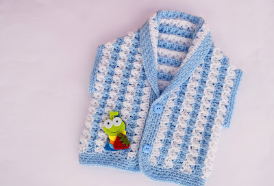 1 - Crochet Imagen Chaleco a crochet y ganchillo por Majovel Crochet