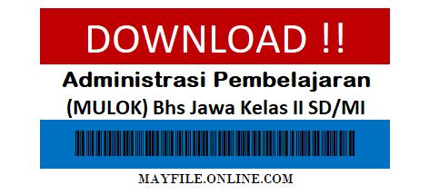 Administrasi K13 Mulok Bhs Jawa Kekas 2 SD/MI Komplit