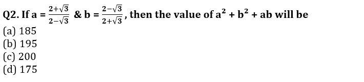 Algebra Questions for SSC CGL TIER-2 , SSC Stenographer & IB (ACIO) 2017_80.1
