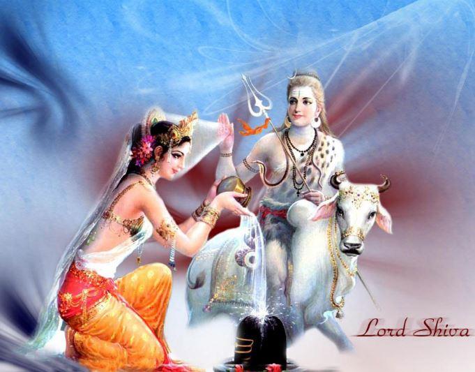 god shiva and goddess parvati 2
