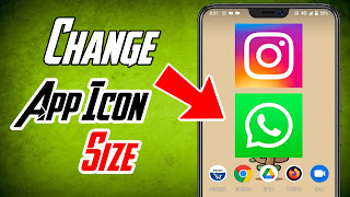 Enable Big Size App Icon On Android