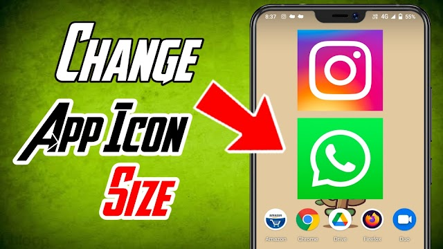 Change App Icon Size On Android | Enable Big Size App Icon On Android