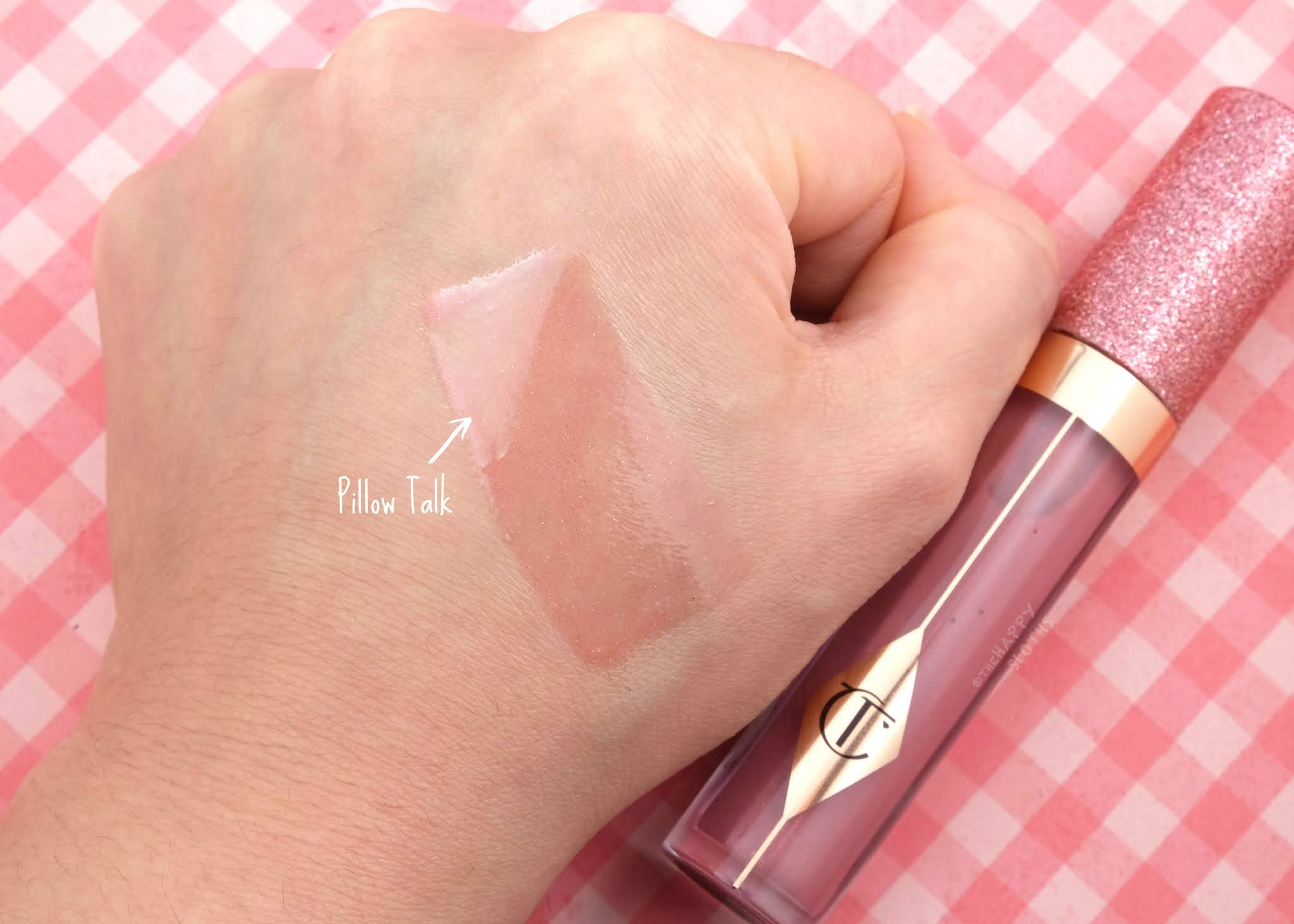 "Charlotte Tilbury | ""Pillow Talk"" Charlotte's Jewel Lips: Review and Swatches"