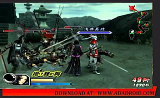kumpulan game PSP ukuran kecil Basara
