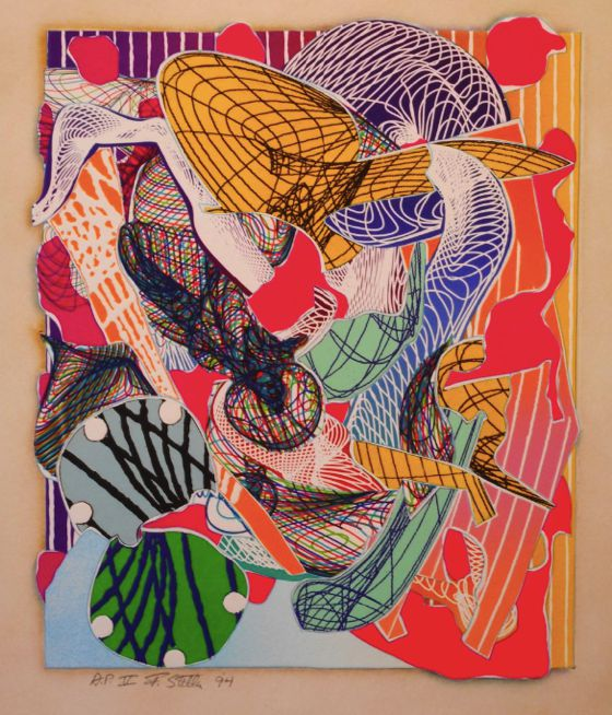 Patternprints journal by the father of minimalism frank for Minimal art frank stella