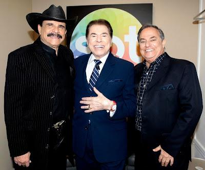 Eduardo, Silvio e Ronnie (Crédito: Lourival Ribeiro/SBT)