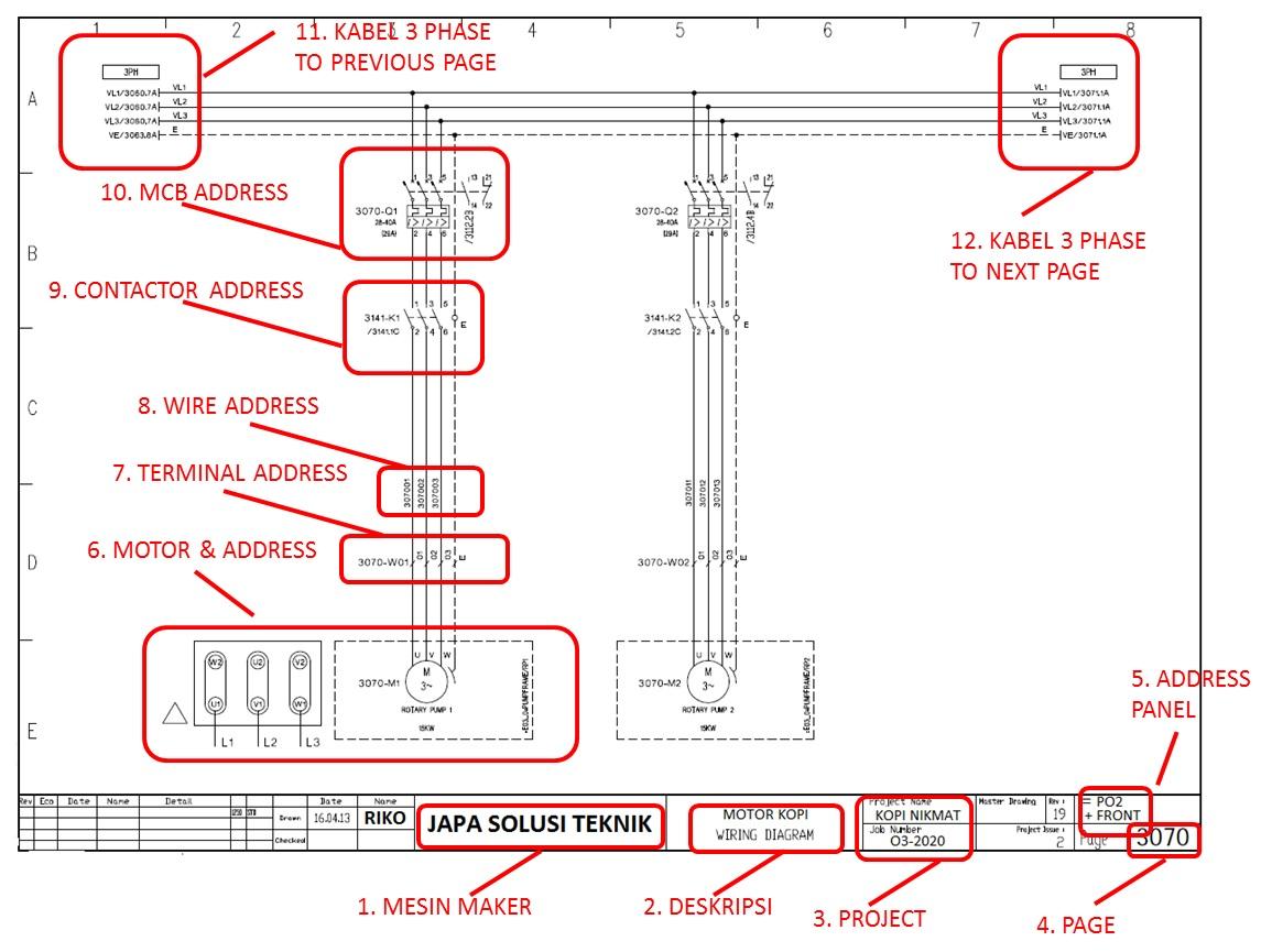 Cara Analisa Kerusakan Mesin Industri Dengan Membaca Electrical Drawing Teknisi Listrik