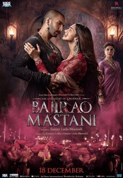 Poster Of Bajirao Mastani 2015 720p Hindi BRRip Full Movie Download