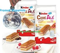 Logo Vinci gratis 900 confezioni Kinder Cerealè