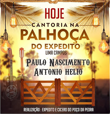 CANTORIA NA PALHOÇA DO EXPEDITO EM LIMA CAMPOS