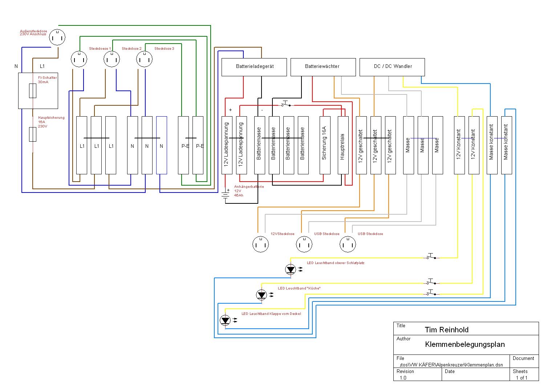 Wunderbar Klemmenplan Ideen - Der Schaltplan - triangre.info