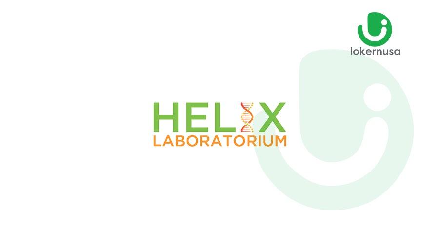 Lowongan Kerja Helix Laboratorium