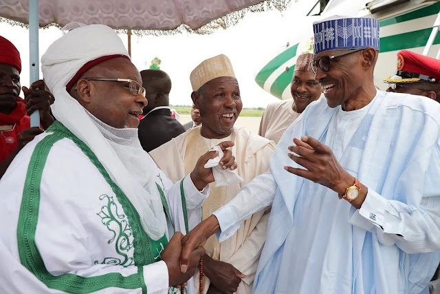 UPDATE: President Buhari in Katsina for Sallah (photos)