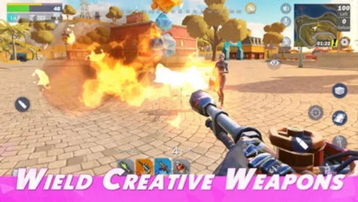 أفضل بدائل Fornite Ios Creative Destruction