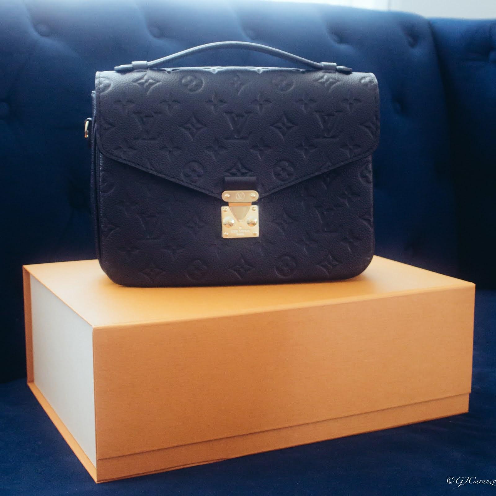 Unboxing Louis Vuitton Pochette Metis in Black Empreinte Leather