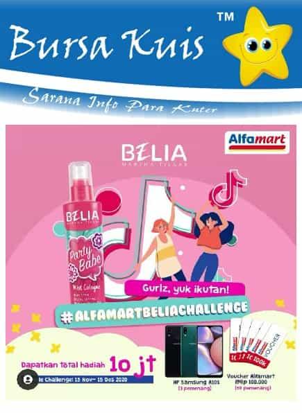 Promo Kuis Online Belia Berhadiah Smartphone Samsung