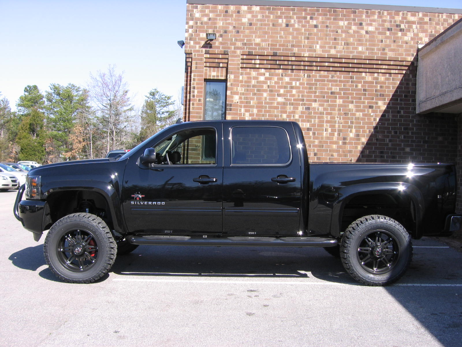 new black widow chevy truck autos post. Black Bedroom Furniture Sets. Home Design Ideas