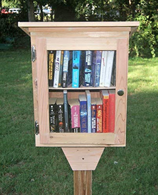 Build community, cultivate readers and spark creativity with a repurposed Little Free Library. A fabulous DIY project, these portable libraries help promote literacy by offering free books for all. Learn how you can make your own on a small budget. {reading, LFL, elementary, plans, ideas, tips} #freebooks #communityinvolvment