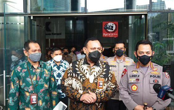 Sambangi KPK, Kapolri Bicarakan Penguatan SDM dan Pencegahan Hingga Joint Investigasi