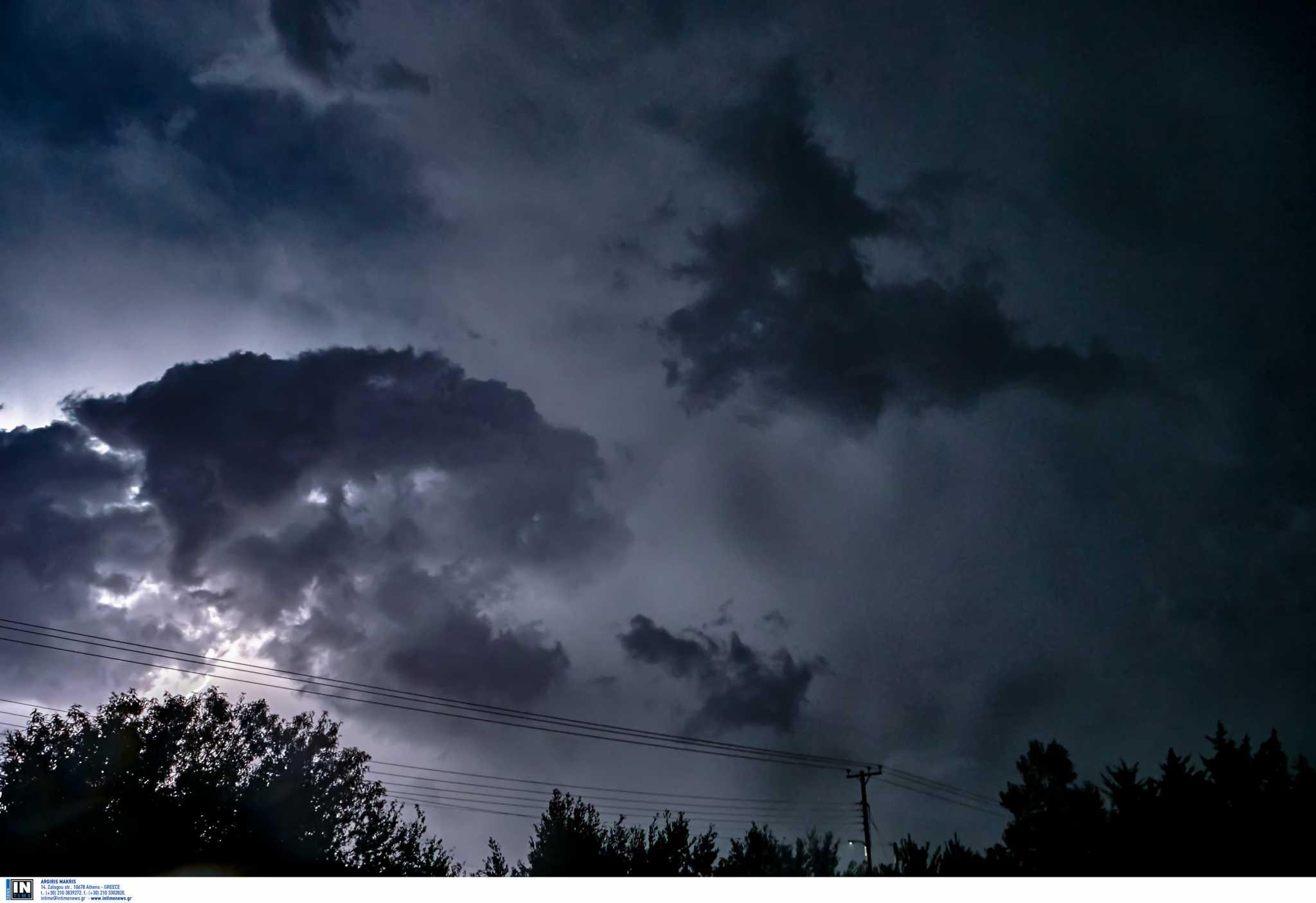 Καιρός: Έκτακτο δελτίο επιδείνωσης – Καταιγίδες στην Ξάνθη