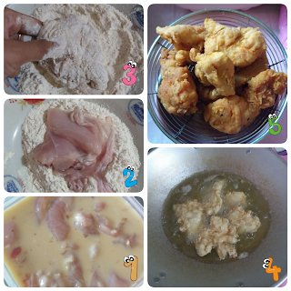 cara membuat buttermilk fried chicken