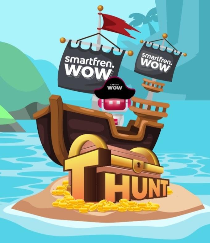 smartfren Treasure Hunt, Rejeki di Depan Mata WOW Kejutannya WOW Hadiahnya
