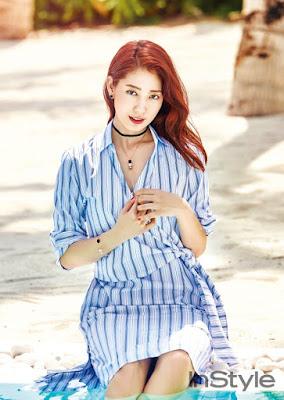Park Shin Hye InStyle June 2017