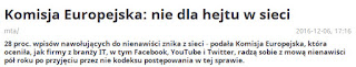 http://www.polsatnews.pl/wiadomosc/2016-12-06/komisja-europejska-nie-dla-hejtu-w-sieci/