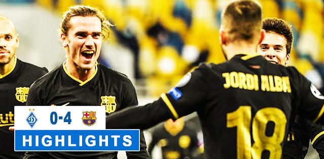 Dynamo Kyiv vs Barcelona – Highlights