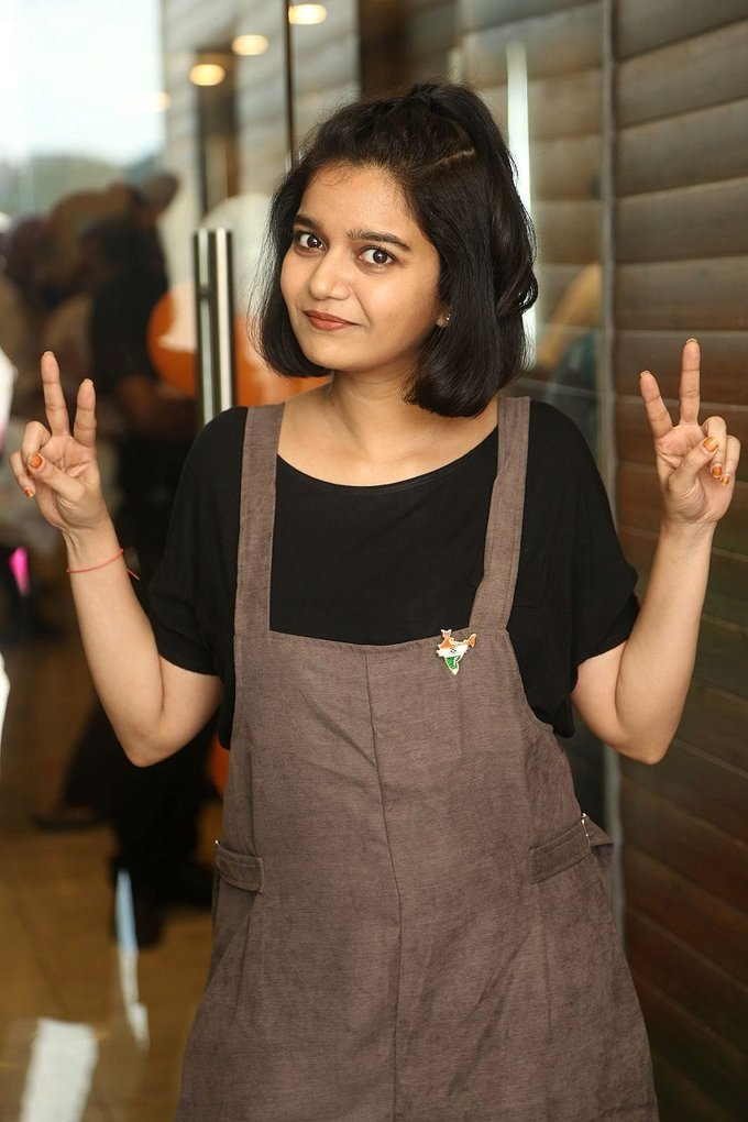 Swathi Reddy at London Babulu Movie First Song Launch Stills