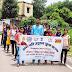 नेहरू युवा केन्द्र के द्वारा स्वच्छता पखवाड़ा  के अंतर्गत हिरणा में स्वच्छता जागरूकता रैली निकाला गया