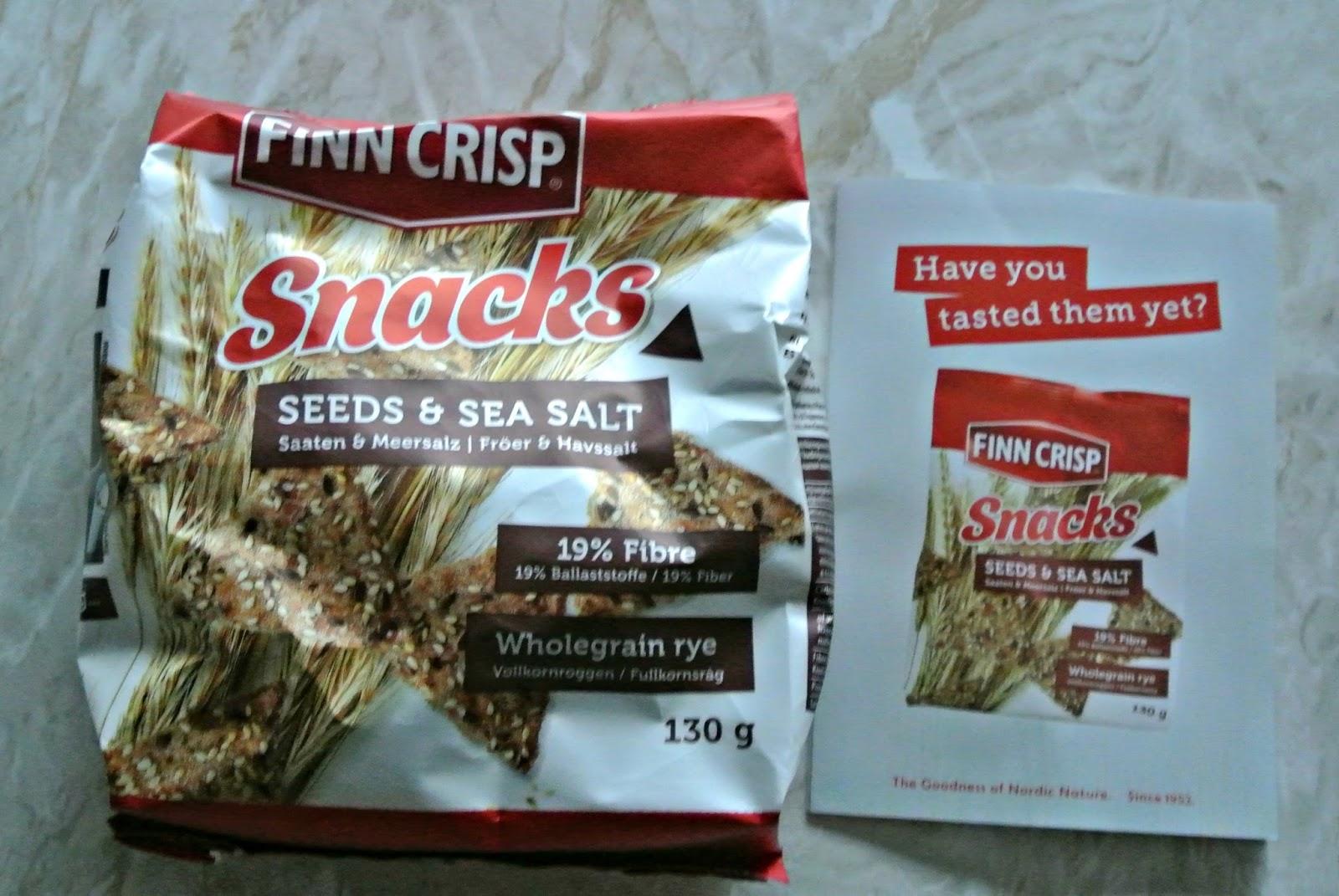 Finn Crisp Snacks in seeds and sea salt Degustabox