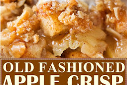 OLD FASHIONED EASY APPLE CRISP