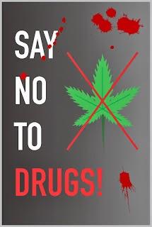 Materi Pelajaran 9 Contoh Gambar Poster Narkoba Yang Mudah Digambar
