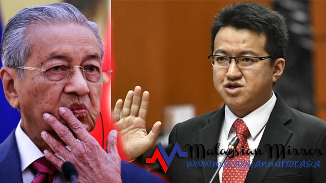 Why is Lew Chin Tong being too obsessed with Mahathir?