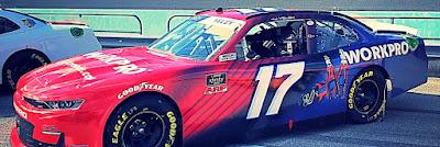 The #17 #NASCAR Xfinity of JJ Yeley