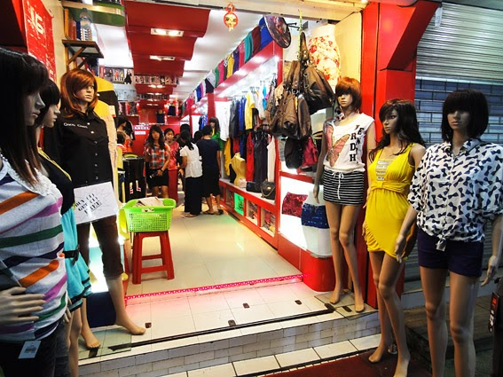 Fashion shop at Maha Bandoola