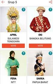 Cara Vote Lida Duta Liga Dangdut Indonesia di Shopee 2021