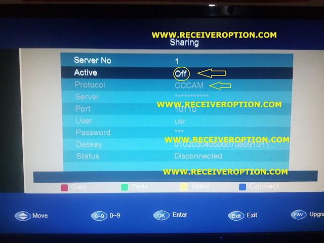 SAT TRACK AERO PLUS HD RECEIVER CCCAM OPTION