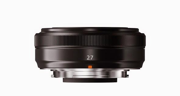 Fotografia dell'obiettivo pancake Fujinon XF 27mm f/2.8