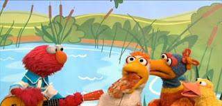 Elmo sings Elmo's Ducks. Sesame Street Best of Friends