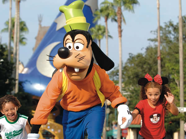 Personagens na Disney Orlando
