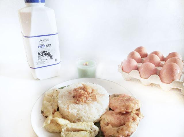 Resep menggunakan susu murni hometown dairy