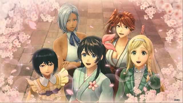Sakura Wars Romances Hatsuho Claris Azami Anastasia